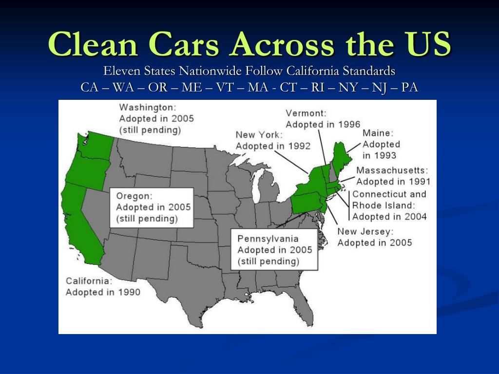 Clean Cars Across the US