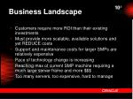 business landscape