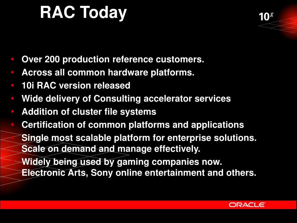 RAC Today