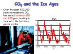 co 2 and the ice ages
