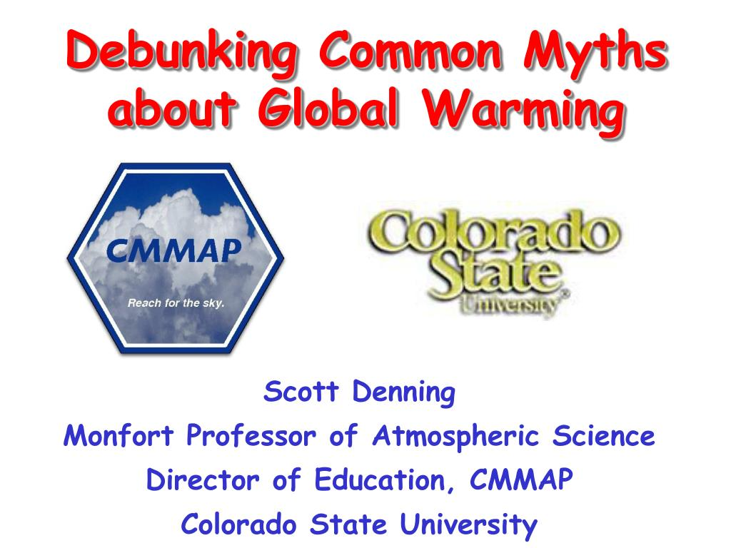 debunking common myths about global warming l.