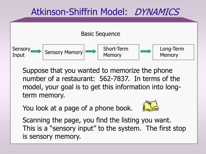 short term memory methods of memorization Information processing and memory: and retains previous information guides selection of long-term learning objectives and methods taken in short-term memory.