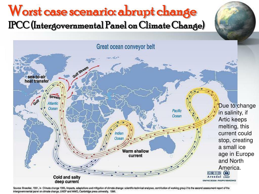 Worst case scenario: abrupt change