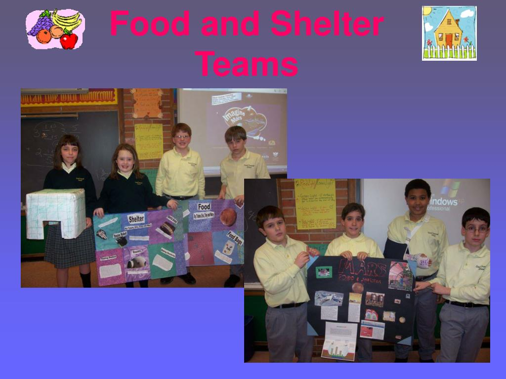 Food and Shelter Teams