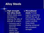 alloy steels38