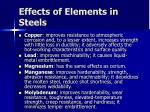effects of elements in steels31