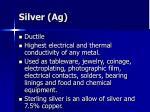 silver ag