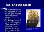 tool and die steels45