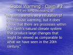 global warming claim 2 we are doing the heating up27