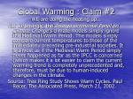 global warming claim 2 we are doing the heating up28