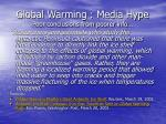 global warming media hype poor conclusions from poorer info55