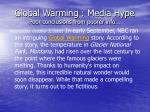 global warming media hype poor conclusions from poorer info56