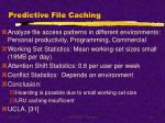 predictive file caching