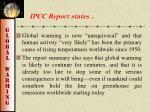 ipcc report states