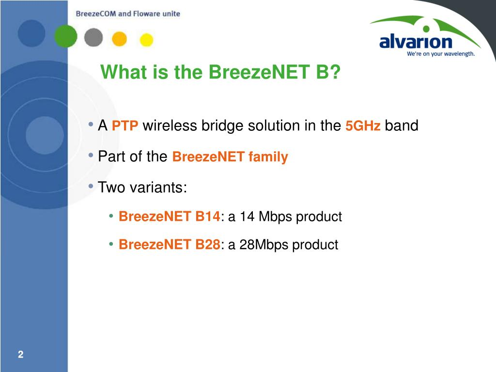 What is the BreezeNET B?