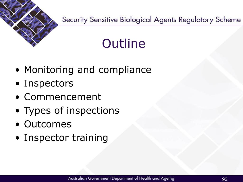 Monitoring and compliance