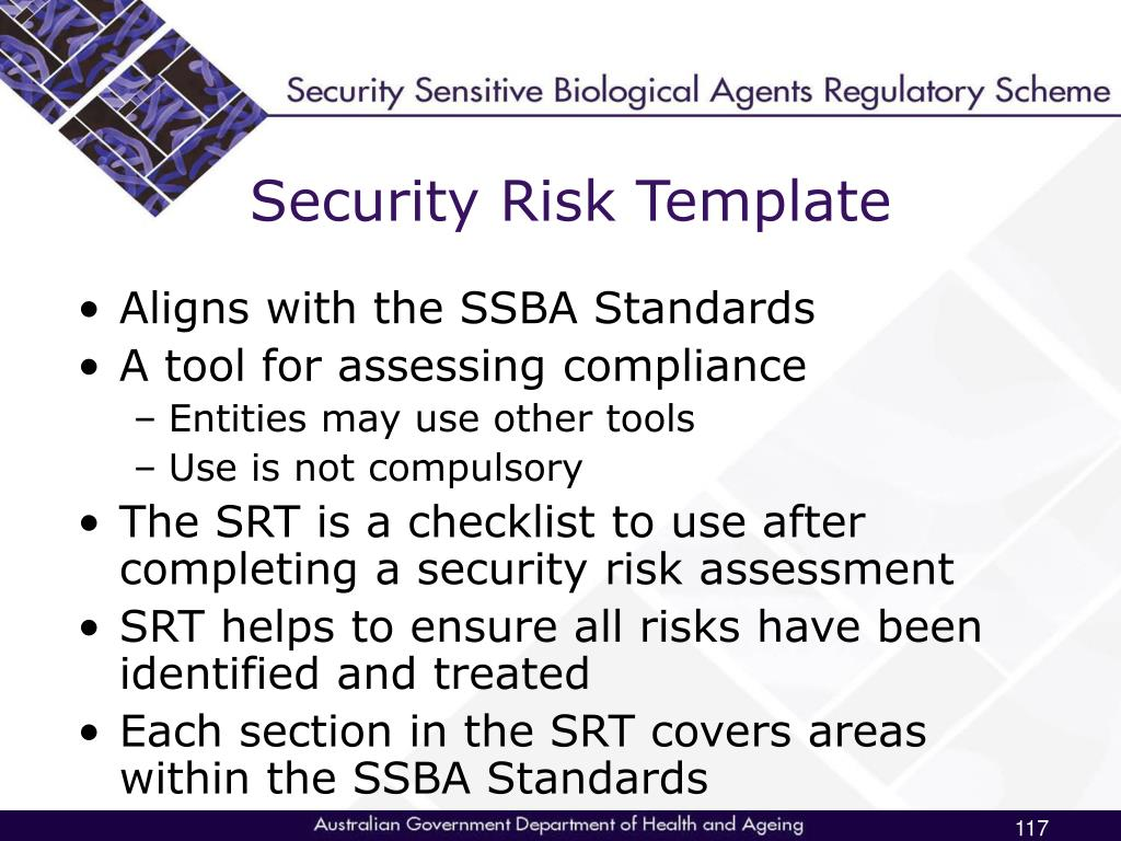 Security Risk Template