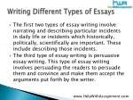 writing different types of essays4