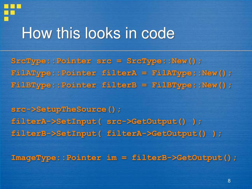 How this looks in code