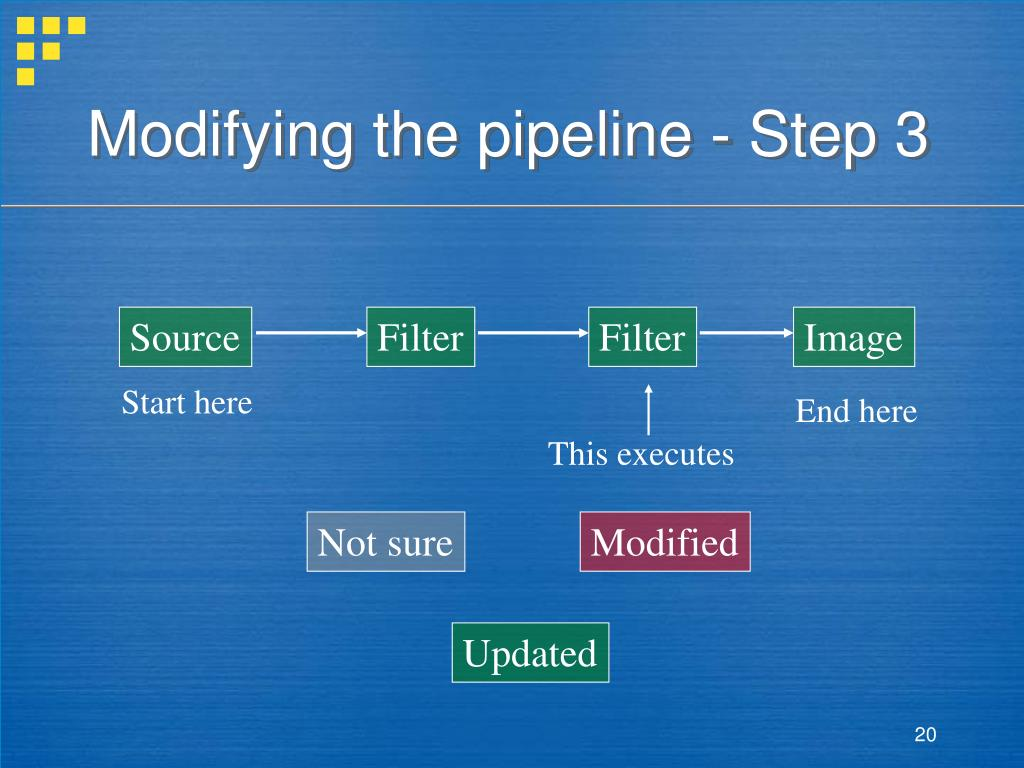 Modifying the pipeline - Step 3