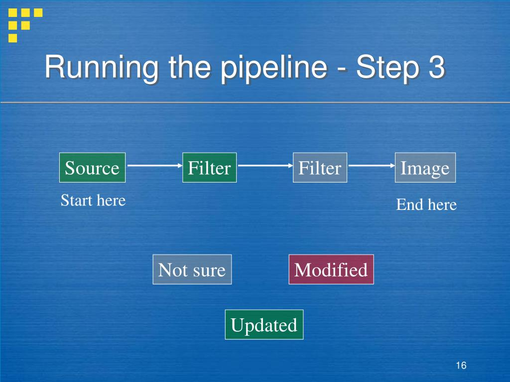 Running the pipeline - Step 3