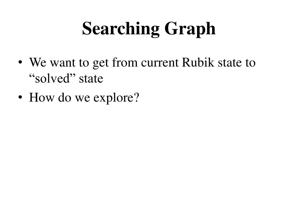 Searching Graph