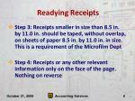 readying receipts6