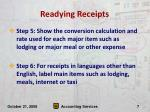 readying receipts7