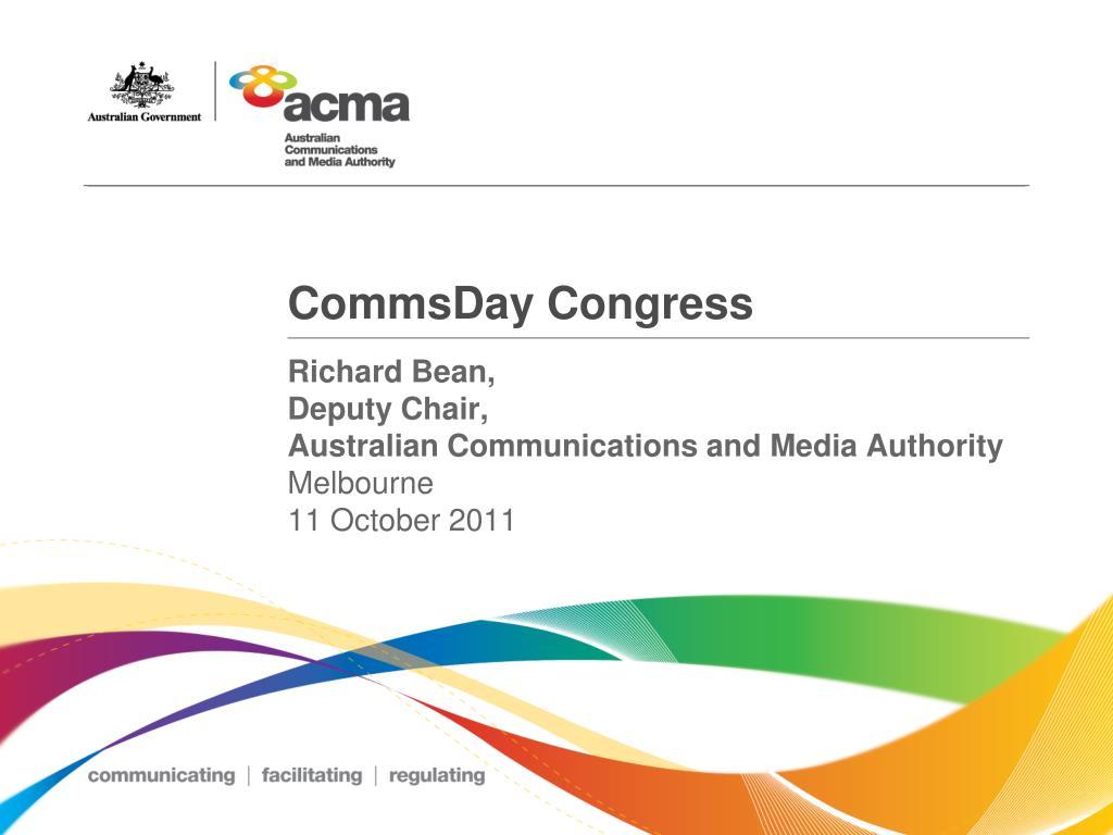 commsday congress l.