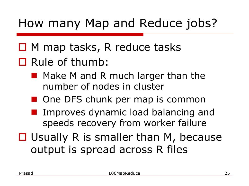 How many Map and Reduce jobs?