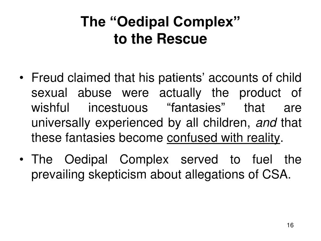 "The ""Oedipal Complex"""