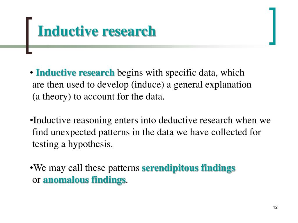 Inductive research