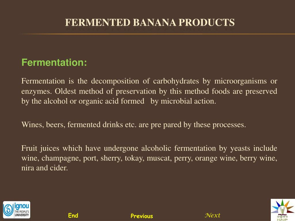 Fermentation: