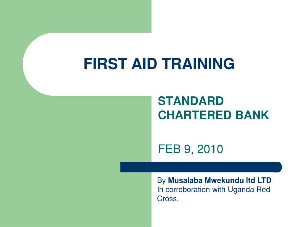 first aid training l.