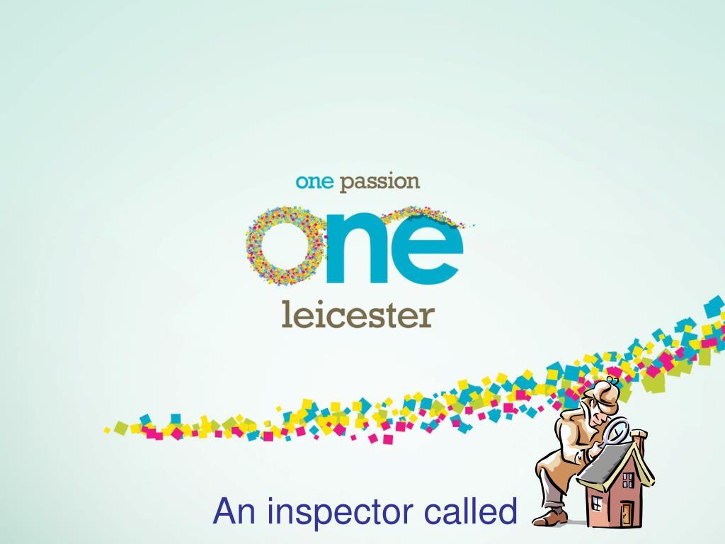 an inspector called l.