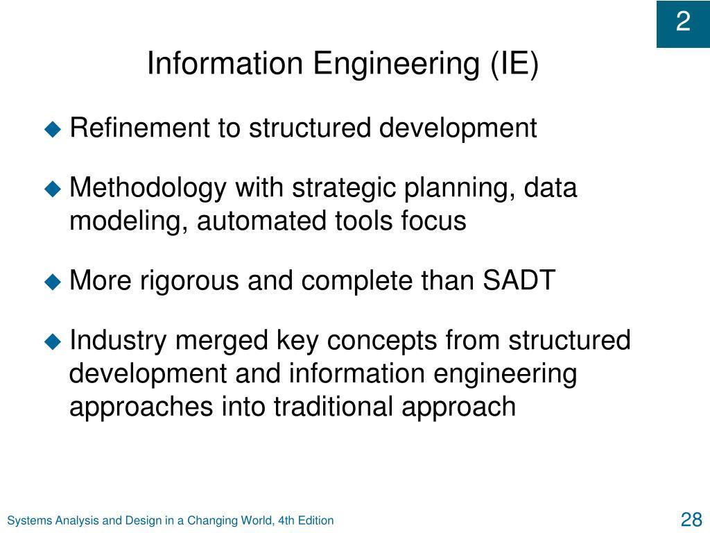 Information Engineering (IE)
