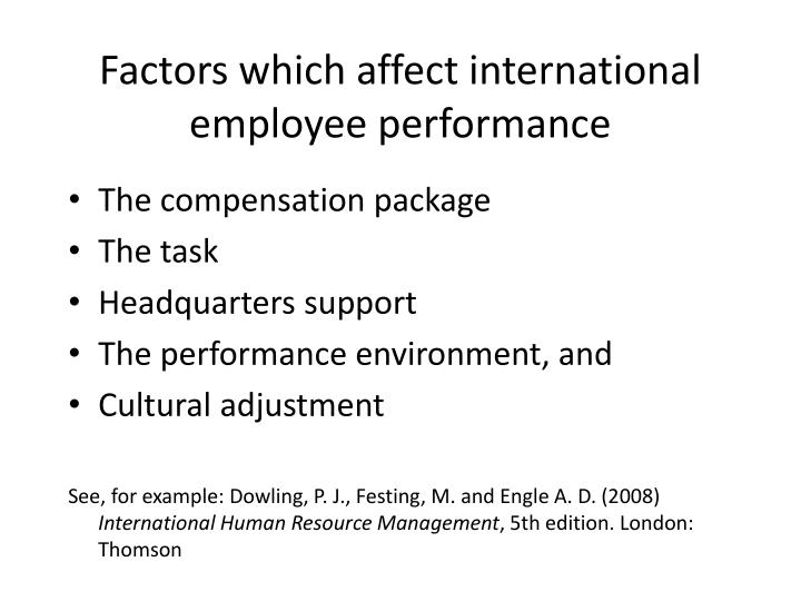 identifying factors which affect the job Its trends can affect the labor market behavior and  factors that enhance job  identifying these factors assists the research to have.