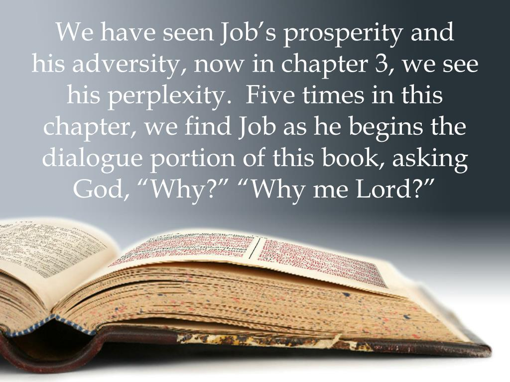 PPT - The Book of Job Ray of Hope Christian Church April 24