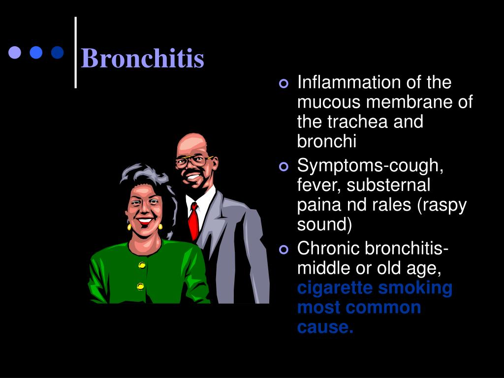 Inflammation of the mucous membrane of the trachea and bronchi