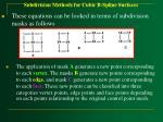 subdivision methods for cubic b spline surfaces63