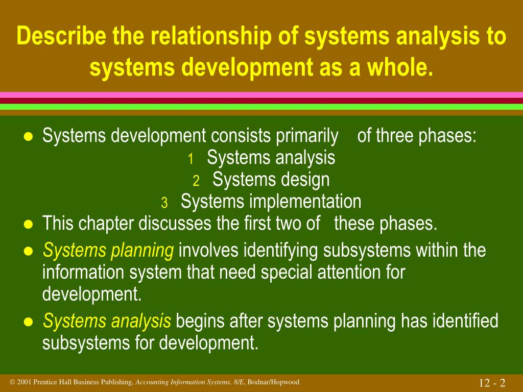 Ppt Systems Planning Analysis And Design Powerpoint Presentation Free Download Id 747878
