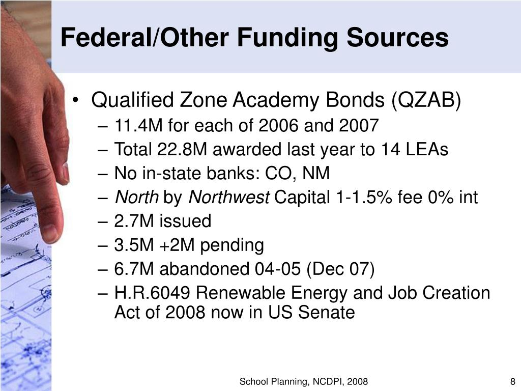 Federal/Other Funding Sources