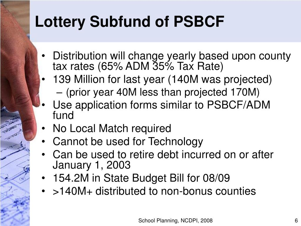 Lottery Subfund of PSBCF