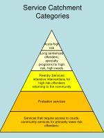 service catchment categories