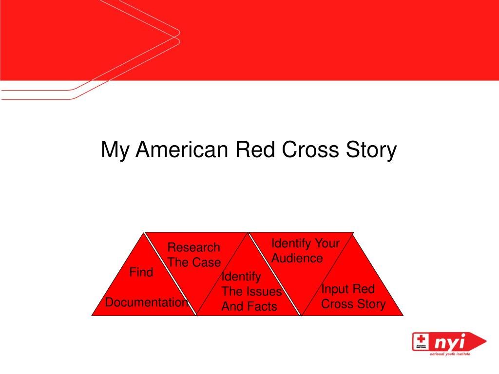 My American Red Cross Story