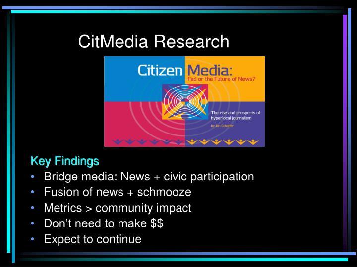 CitMedia Research