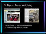 ft myers team watchdog