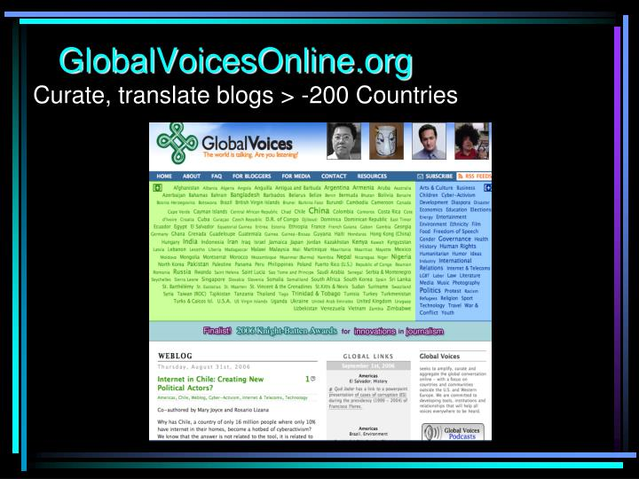 GlobalVoicesOnline.org