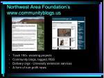 northwest area foundation s www communityblogs us