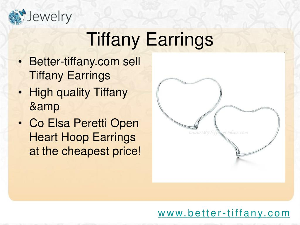 Better-tiffany.com sell Tiffany Earrings